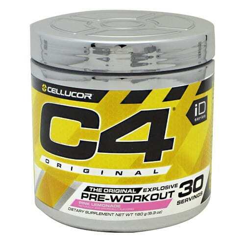 Cellucor iD Series C4 - Pink Lemonade - 30 Servings