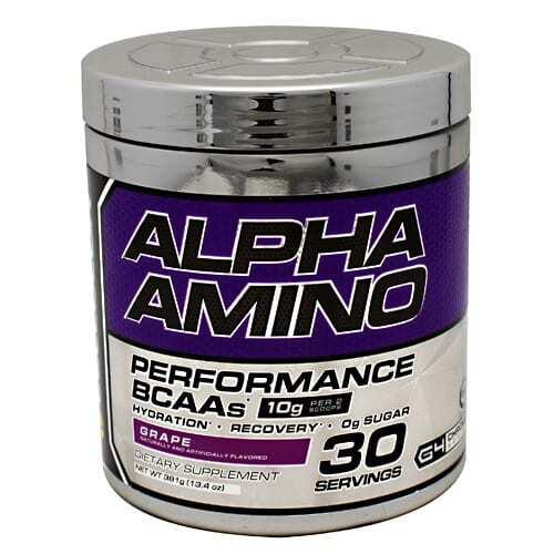 Cellucor Chrome Series Alpha Amino - Grape - 30 servings (13.4oz) 381g