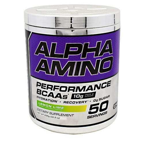 Cellucor Chrome Series Alpha Amino - Lemon Lime - 50 servings (22.3 oz) 635g