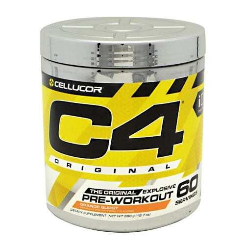 Cellucor iD Series C4 - Orange Burst - 60 Servings