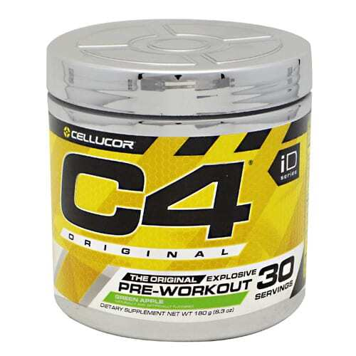 Cellucor iD Series C4 - Green Apple - 30 Servings