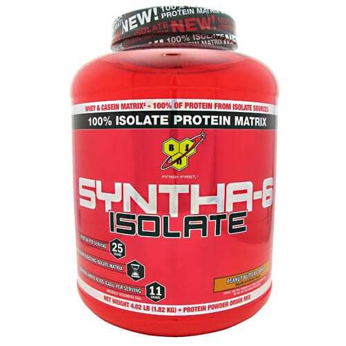 BSN Isolate Syntha-6 - Peanut Butter Cookie - 4.01 lb (1.82 kg)