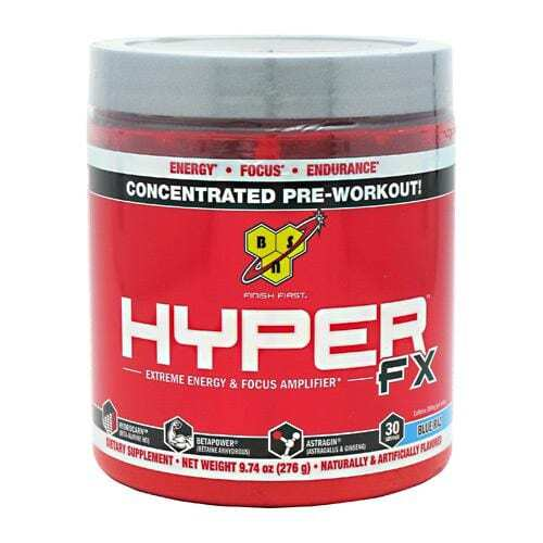 BSN Hyper FX - Blue Raspberry - 30 Servings