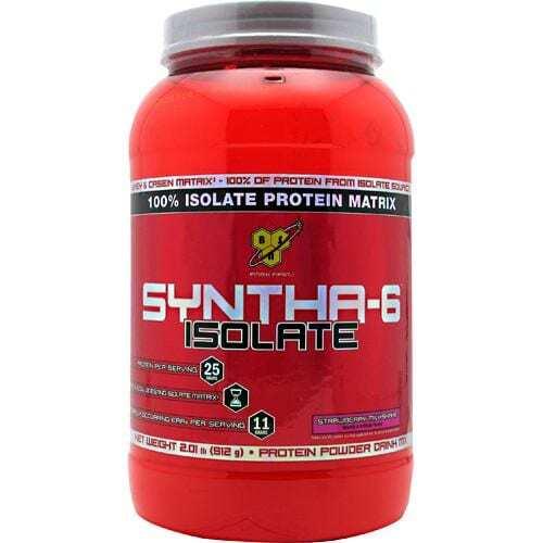 BSN Isolate Syntha-6 - Strawberry Milkshake - 2.01 lb (912kg)