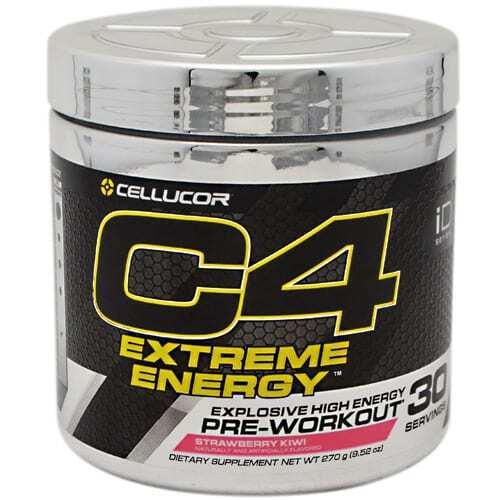 Cellucor C4 Extreme Energy - Strawberry Kiwi - 30 Servings