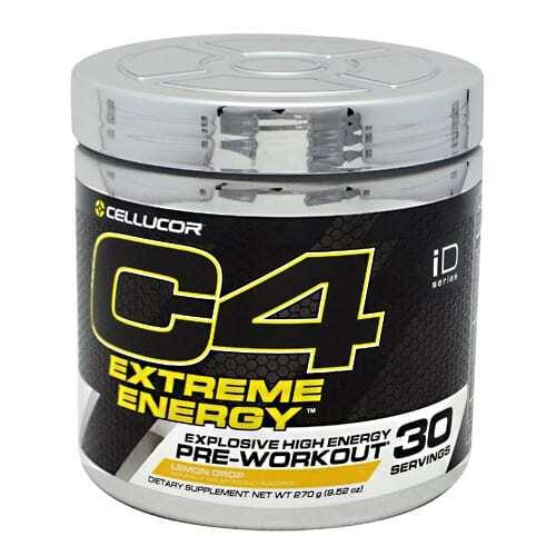 Cellucor iD Series C4 Extreme Energy - Lemon Drop - 30 Servings