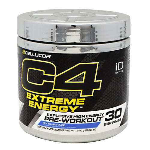 Cellucor iD Series C4 Extreme Energy - Icy Blue Razz - 30 Servings