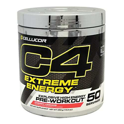 Cellucor iD Series C4 Extreme Energy - Cherry Limeade - 50 Servings