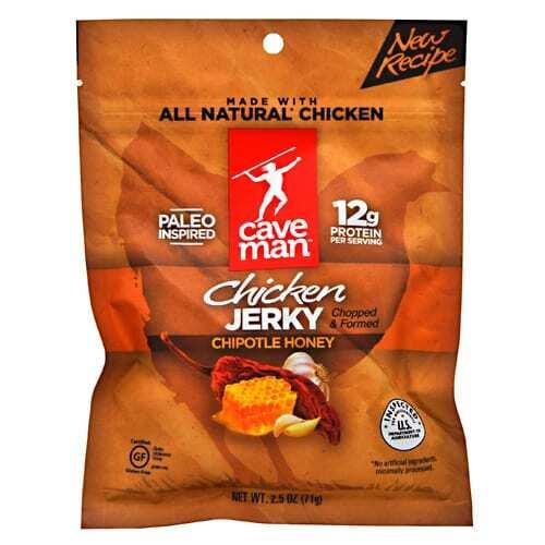 Caveman Foods Chicken Jerky - Chipotle Honey - 2.5 oz
