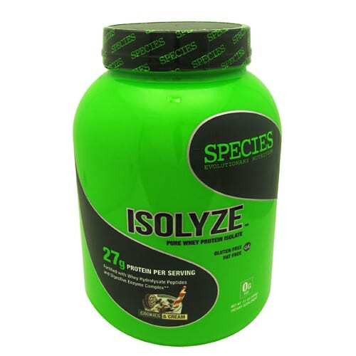 Species Nutrition Isolyze - Cookies & Cream - 44 servings