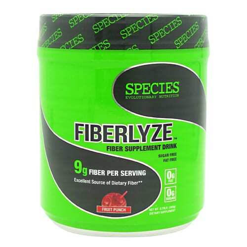 Species Nutrition Fiberlyze - Fruit Punch - 30 Servings