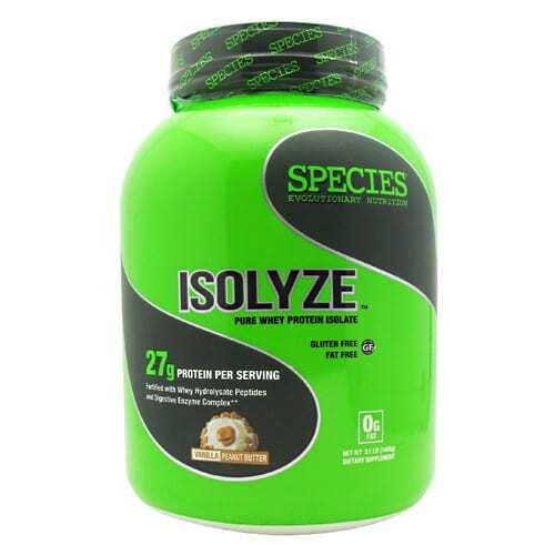 Species Nutrition Isolyze - Vanilla Peanut Butter - 44 Servings