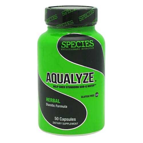 Species Nutrition Aqualyze - 50 Capsules