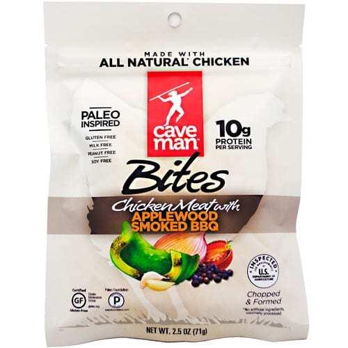 Caveman Foods Primal Bites - Applewood Smoked BBQ - 2.5 oz