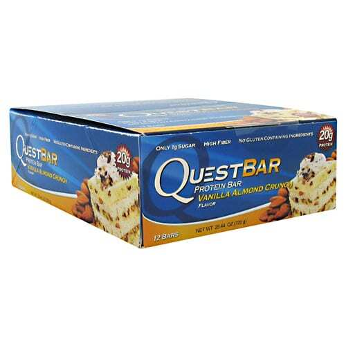 Quest Nutrition Quest Protein Bar - Vanilla Almond Crunch - 12-2.12 oz (60g) Bars