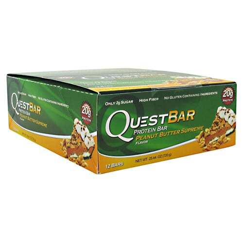 Quest Nutrition Quest Protein Bar - Peanut Butter Supreme - 12-2.12 oz (60g) Bars