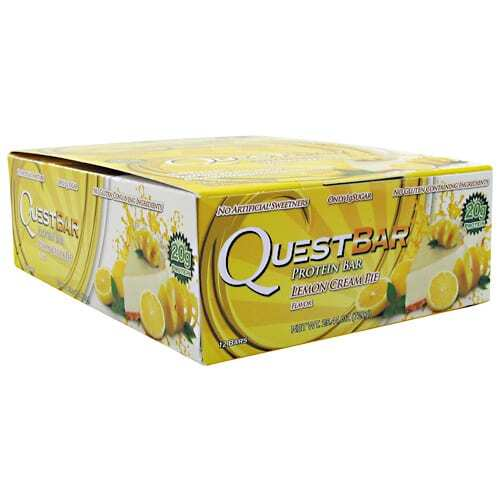 Quest Nutrition Quest Natural Protein Bar - Lemon Cream Pie - 12 - 2.12oz (60g) Bars