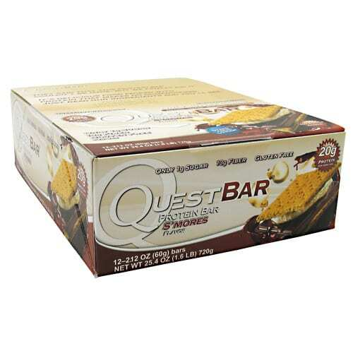 Quest Nutrition Quest Protein Bar - S'mores - 12 - 2.12oz (60g) Bars