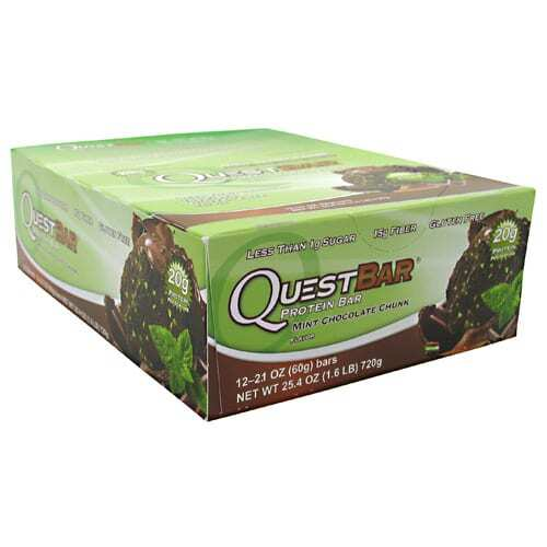 Quest Nutrition Quest Protein Bar - Mint Chocolate Chunk - 12 Bars