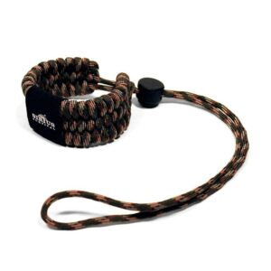 Paracord Camera Wrist Strap – Adjustable Size – 550lb Paracord – 4 Colors – Wrist Strap for Cameras, Binoculars & Other Hand Held Items (Camo)-0
