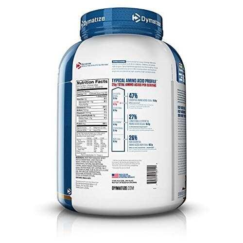 Dymatize Elite 100% Whey Protein - Cookies & Cream - 5 lbs (2,270g)-2259