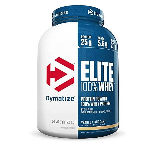 Dymatize Elite 100% Whey Protein - Strawberry Blast - 2 Lbs (907g)
