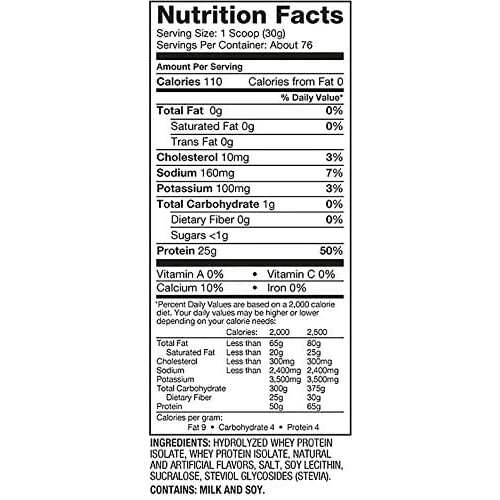 Dymatize Iso-100 - Cookies & Cream - 5 LBS-2352