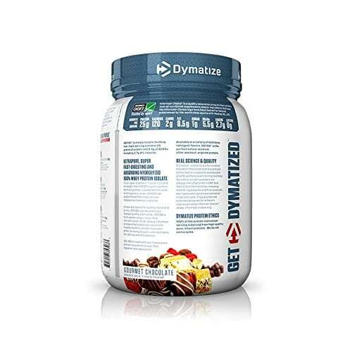 Dymatize Iso-100 - Gourmet Chocolate - 1.6 LBS-2445