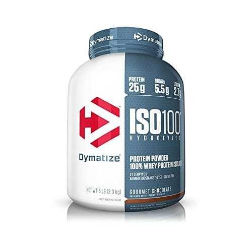 Dymatize Iso-100 - Gourmet Chocolate - 5 LBS