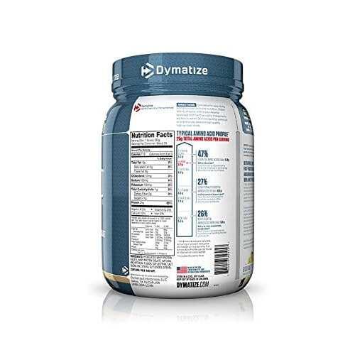 Dymatize Iso-100 - Gourmet Vanilla - 1.6 LBS-2458