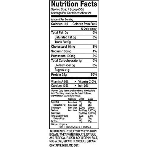 Dymatize Iso-100 - Gourmet Vanilla - 1.6 LBS-2456