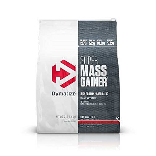 Dymatize Super Mass Gainer - Strawberry - 12 LBS