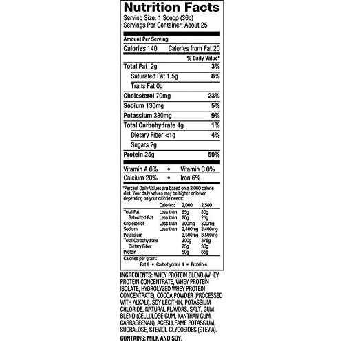 Dymatize Elite 100% Whey Protein - Chocolate Cake Batter - 2 lbs (907 g)-2229