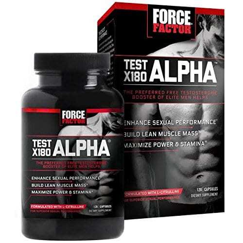Force Factor Test X180 Alpha - 120 Capsules-0