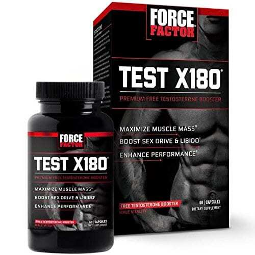 Force Factor Test X180 Ignite - 60 Capsules-0