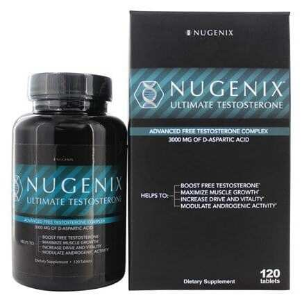 Nugenix Ultimate Testosterone - 120 Tablets-0