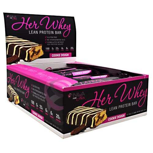 NLA For Her Her Whey Bar - Cookie Dough - 12 - 2 oz Bars