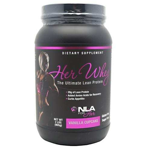 NLA For Her Her Whey - Vanilla Cupcake - 2 lbs (905g)