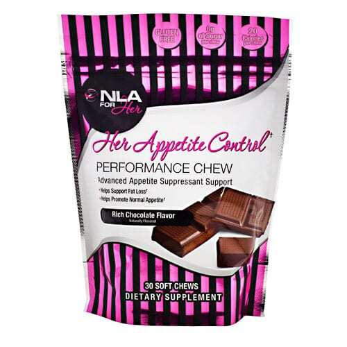 NLA For Her Her Appetite Control - Rich Chocolate Flavor - 30 soft chews