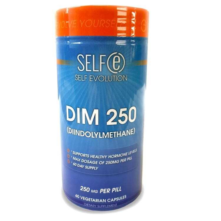 DIM 250mg - Diindolylmethane Supplement by Selfe - 60 Veggie Caps-0