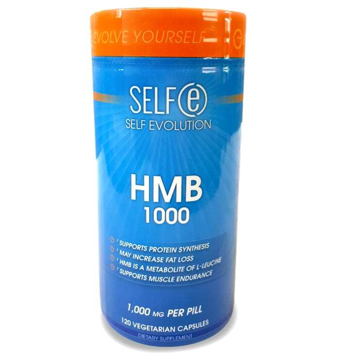 HMB 1000mg Supplement by Selfe - 120 Veggie Caps-0