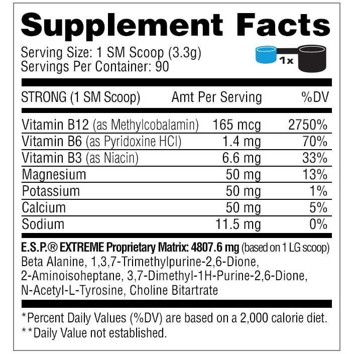 ESP Extreme - Blue Raspberry - Metabolic Nutrition-2697