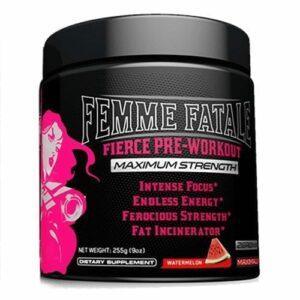 Femme Fatale Fierce Pre-Workout - Watermelon - 30 Servings-0