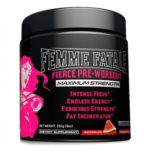 Femme Fatale Fierce Pre-Workout - Watermelon - 30 Servings-0