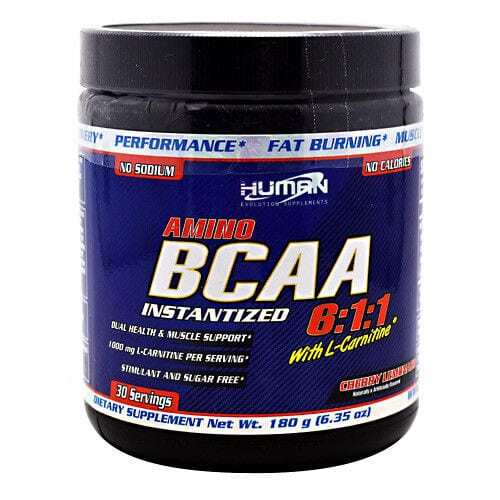 Human Evolution Supplments - BCAA 6:1:1 - Cherry Lemonade-0