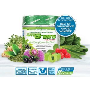 CytoGreens - Premium Green Superfood - Acai Berry Green Tea - 60 Servings-0