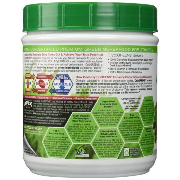 CytoGreens - Premium Green Superfood - Acai Berry Green Tea - 60 Servings-2900