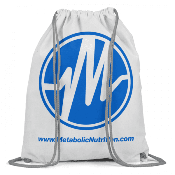 Metabolic Nutrition Drawstring Bag - Blue-0