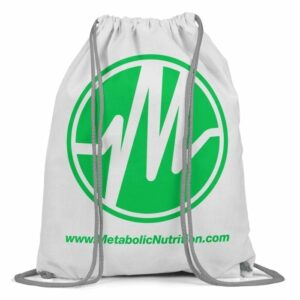 Metabolic Nutrition Drawstring Bag - Green-0