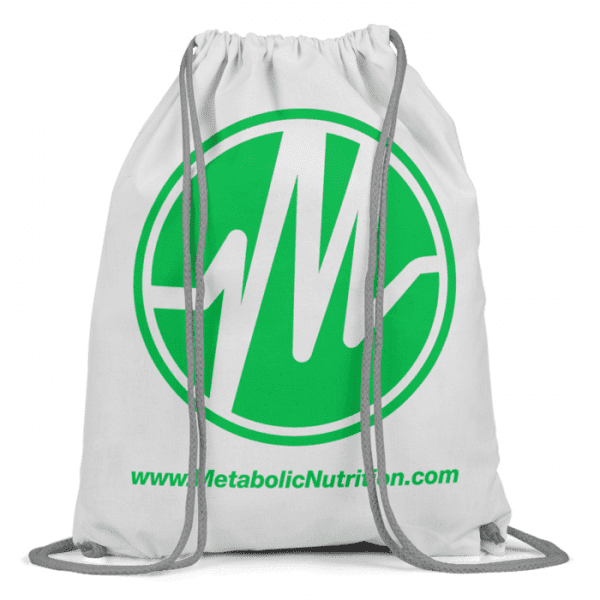 Metabolic Nutrition Drawstring Bag - Green-0